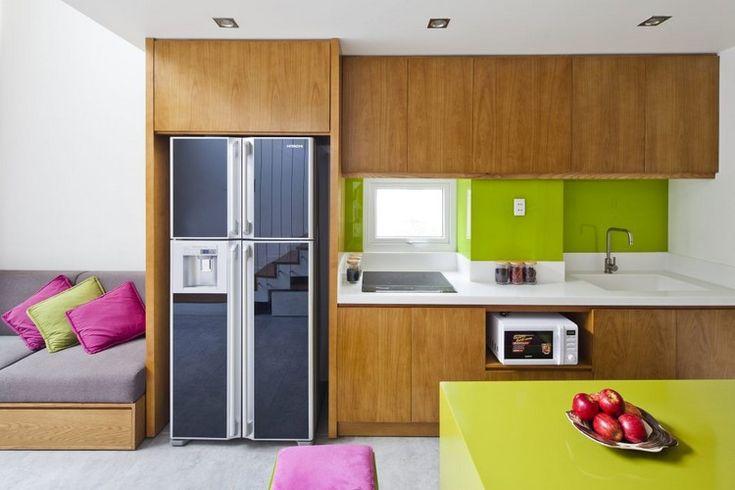 Wundervoll Farbakzente Im Interieur Setzen U2013 Ein Gemütliches Einfamilienhaus In  Vietnam #einfamilienhaus #farbakzente #gemutliches