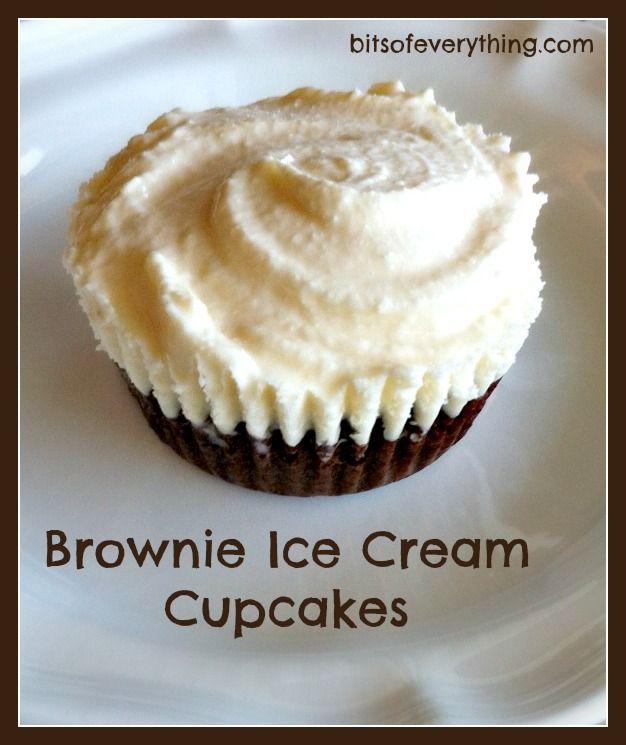 ice cream cupcakes on Pinterest | Snickers Ice Cream, Sundae Cupcakes ...