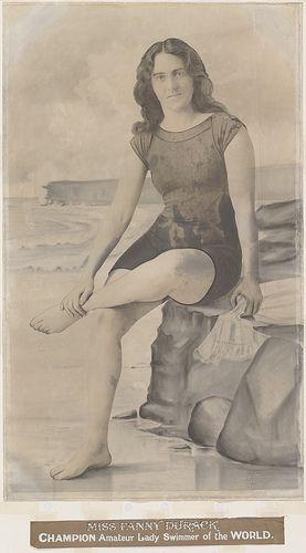 Portrait of Fanny Durack, 1912   Flickr - Photo Sharing!