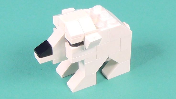 Lego Polar Bear Building Instructions - Lego Basics How To Build