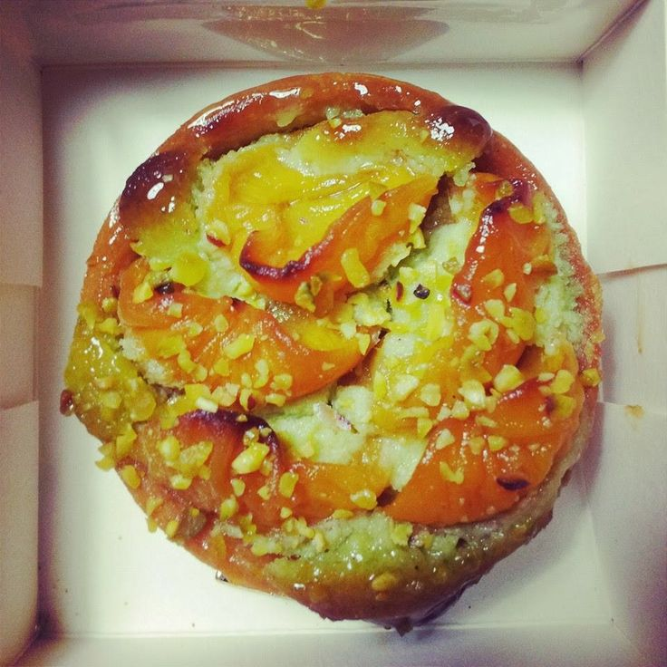 and Pistachio Tart from Eric Keyser- Today I had a pommes crumble tart ...