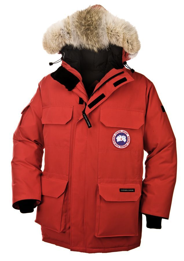 Expedition Parka - Red