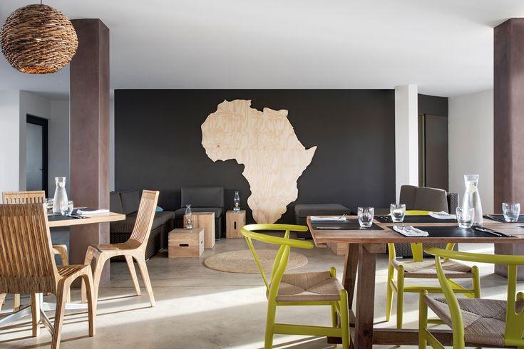 Windtown Langebaan Restaurant. Interior design by Source Interior Brand Architecture.