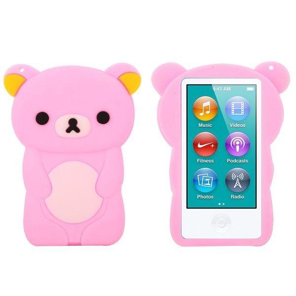 Happy Bear (Lyse Rosa) iPod Nano 7 Deksler