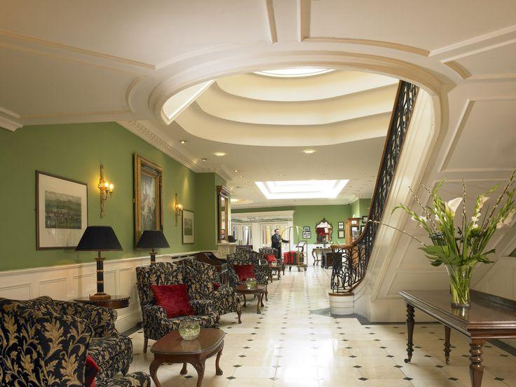 Lobby at Dromhall Hotel