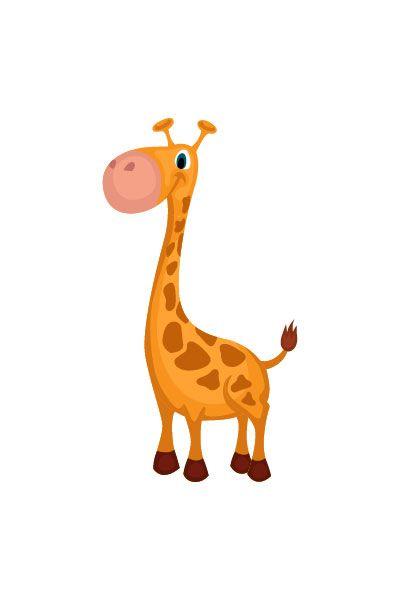 Giraffe Vector Image #wild #animals #vector #handdrawvector #giraffe http://www.vectorvice.com/wild-animals-vector-pack