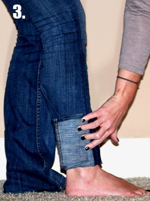 How to rock jeans and boots  -- Don't own any skinny jeans or just not a straight leg kind of girl? No worries! If you have the know-how, it's fairly simple to tuck those bulky, wide leg pants into a pair of cute boots. We'll show you not one, but two chic ways to rock the look