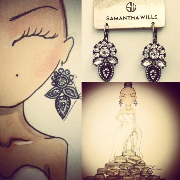 Samantha Wills Bridal Earrings