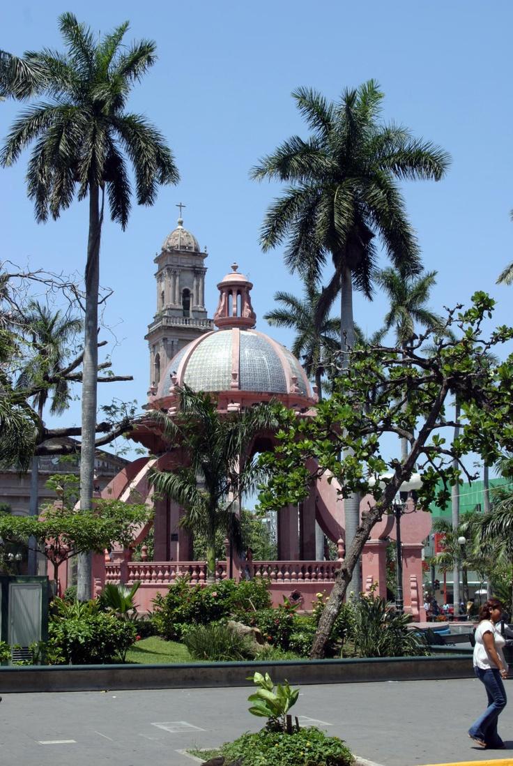 Plaza de Armas in Tampico, Mexico