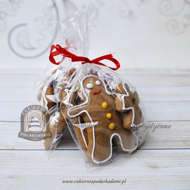 22BC Świąteczne pierniczki lukrowane. Christmas gingerbreads.