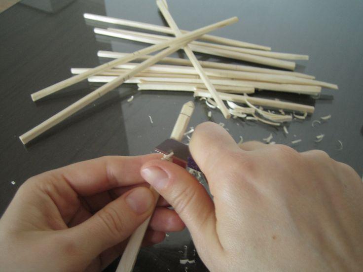 Cómo hacer bobinas caseras para bolillos. Dos tutoriales
