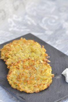 Galettes de pommes de terre au four (thermomix ou non)
