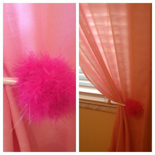 DIY180: Curtain Holdback Ideas - For A Kid's Room