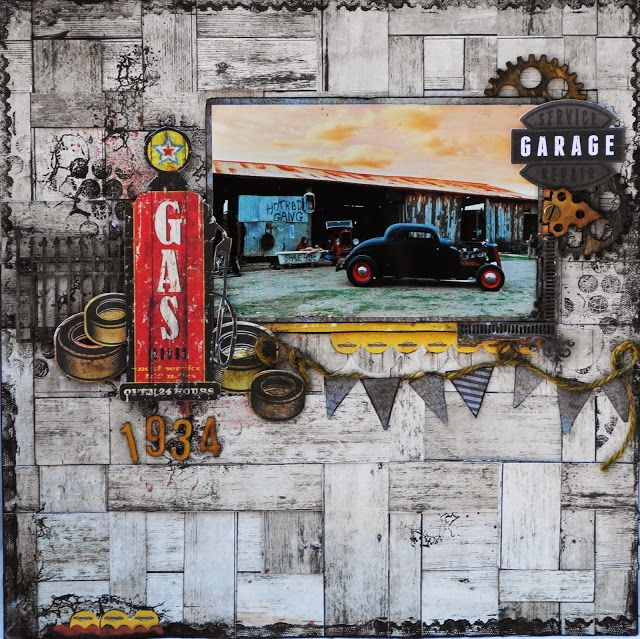Kaisercraft - Garage Days - Geraldine Pasinati