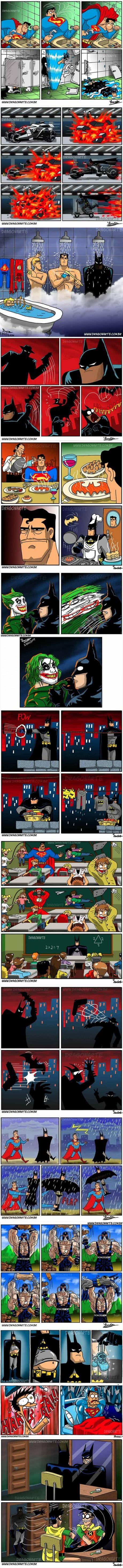 The Funniest Superhero Comics Collection (Part 1)