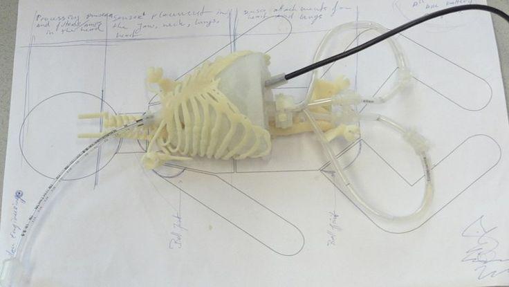 Baby uit 3D-printer om beter te leren reanimeren en beademen: 'Echte baby gescand'  Onderzoeker Mark Thielen van de Technische Universiteit Eindhoven gaat een baby 3D-printen. De organen en lichaamsdelen worden gemaakt van soepel kunststof. De baby is bedoeld om artsen en verpleegkundigen beter te trainen op het reanimeren en beademen van baby's. 3D printers worden steeds populairder. Onderzoeker Mark Thielen van de Technische Universiteit Eindhoven laat zelfs een baby uit de printer komen.