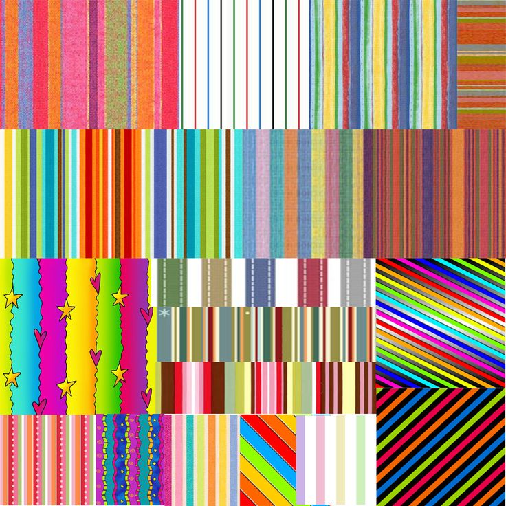 Узор разноцветные полоски — Различные PSD, PNG файлы для фотошопа