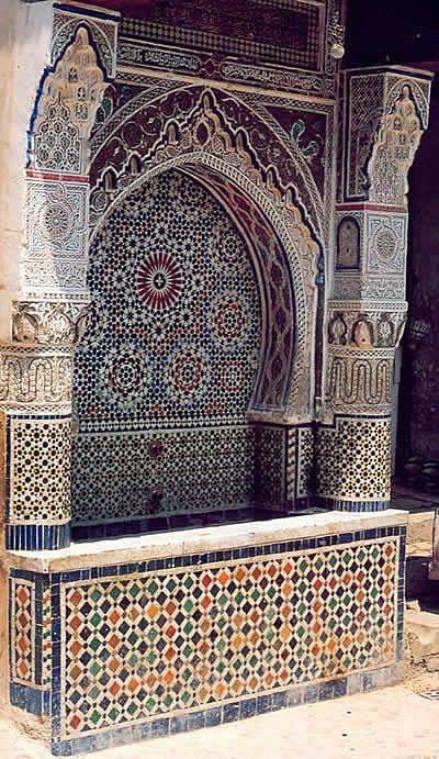 Geschichte der Fliese - Marokko