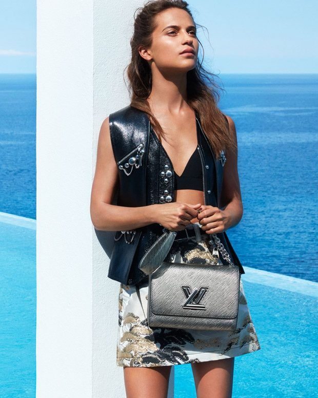 cd5b9f80891 Alicia Vikander is the Face of Louis Vuitton Cruise 2018 Collection ...
