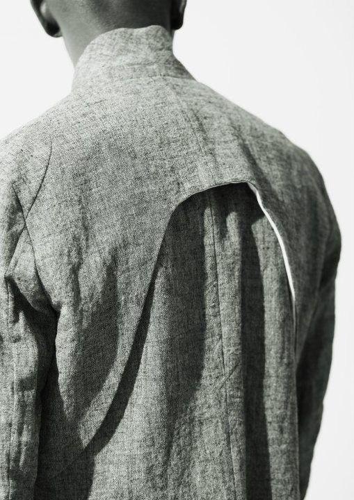 Linen lines.