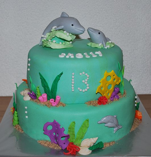 25+ Best Ideas About Dolphin Cakes On Pinterest