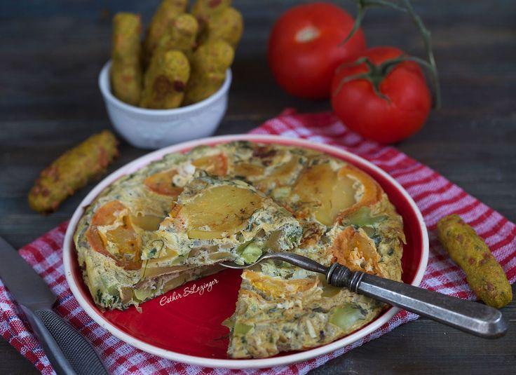 Полезный завтрак: испанская тортилья | Рецепты правильного питания - Эстер Слезингер