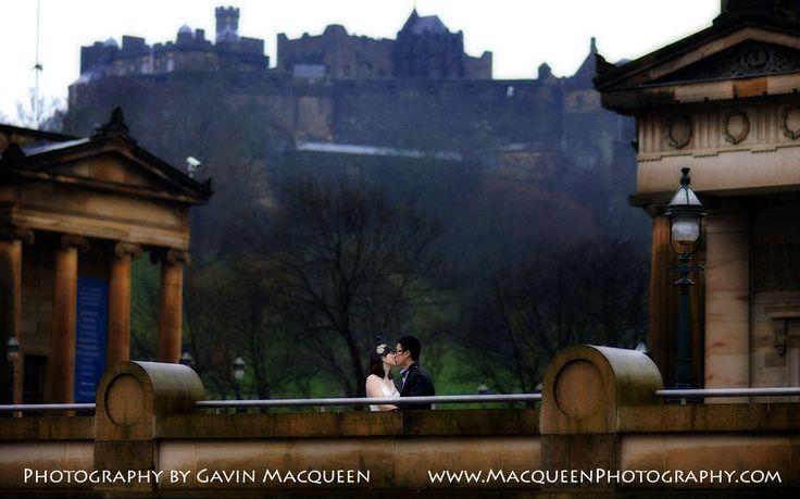 Wedding in Edinburgh city centre