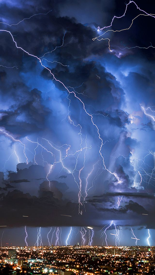 Lightnings iPhone 5s Wallpaper Lightning photography