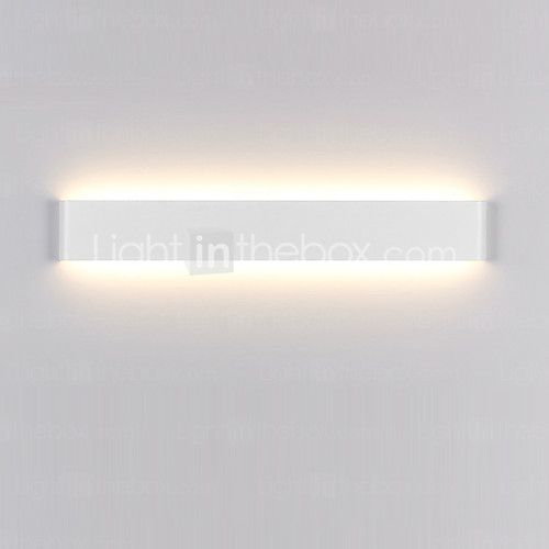 14w moderne / hedendaagse LED wall schansen licht indoor zwart / wit 16inch lange badkamer verlichting 2017 - €67.02