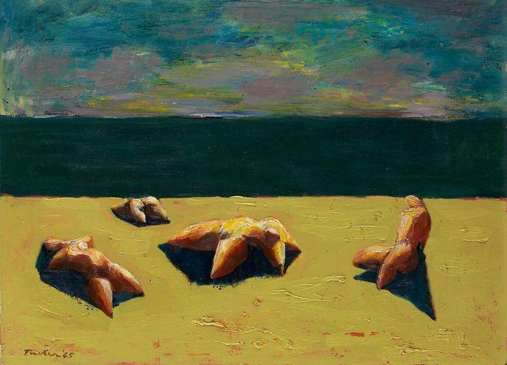 Albert Tucker Sunbathers 1945