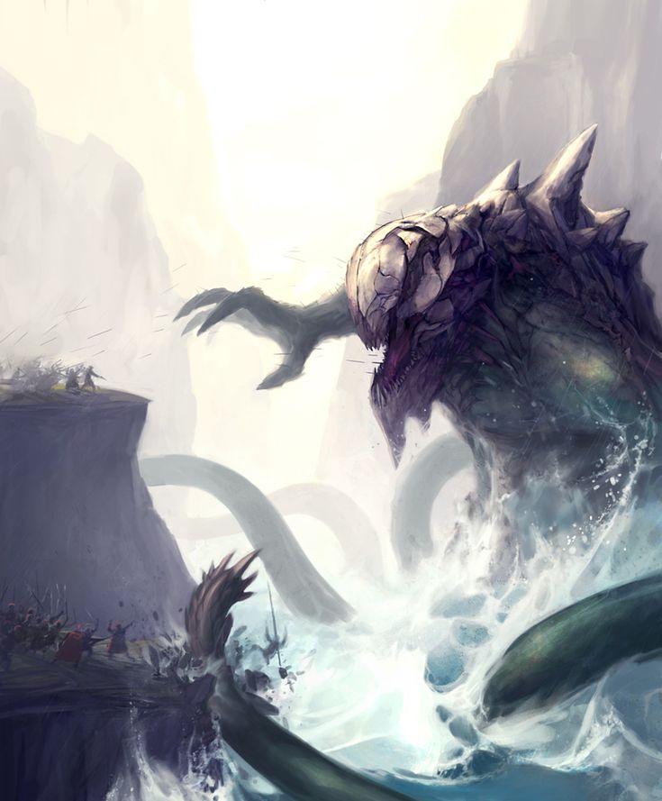 Kraken design | Fenris Warhammer game inspiration ...