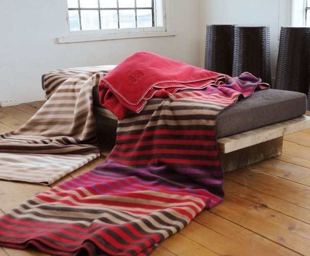David Fussenegger Stripe Blanket