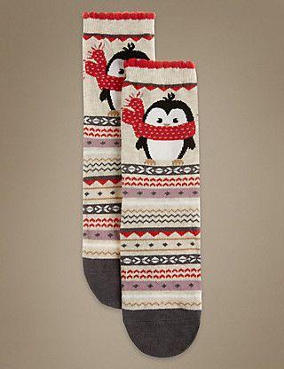 Cotton Rich Socks | M&S