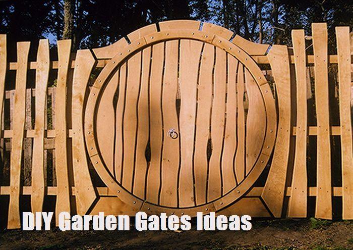 Top 10 Diy Garden Gates Ideas Garden Gates Garden Doors
