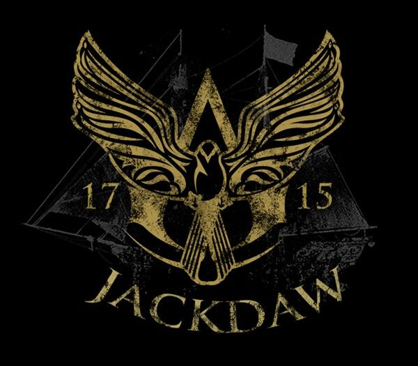 Assassin's Creed IV Black Flag. I LOVE THIS! The Jackdaw's own Brotherhood symbol!