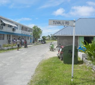 Tuvalu. 3rd least visited country in the world.