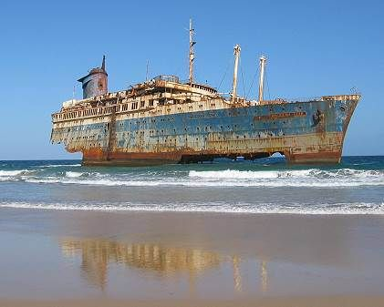 SS America, Canary Islands. | Abandoned. | Pinterest ...