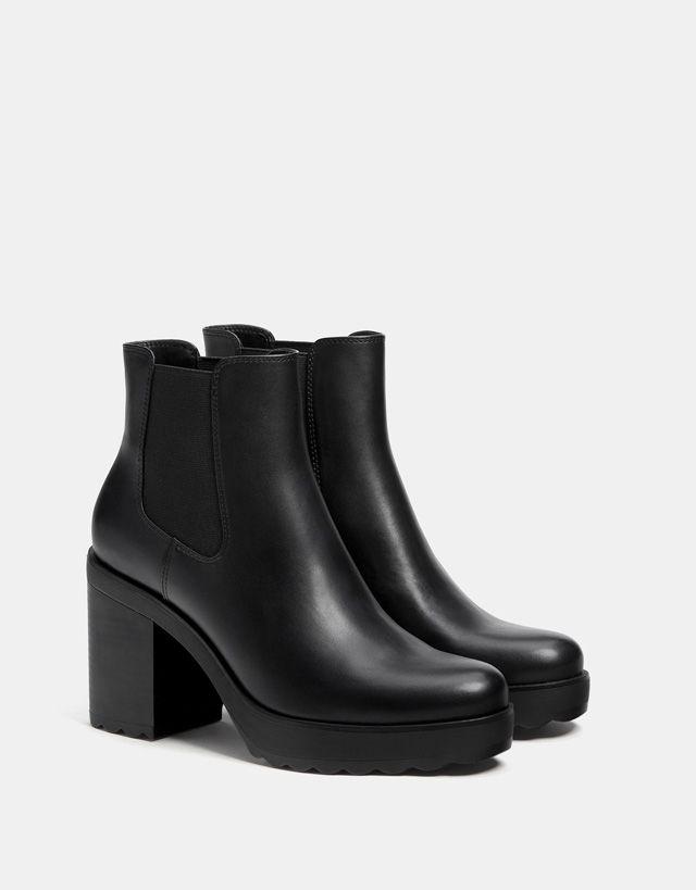 1de8a30450e00f Bottes et bottines - CHAUSSURES - FEMME - Bershka Maroc Shoes Boots Ankle