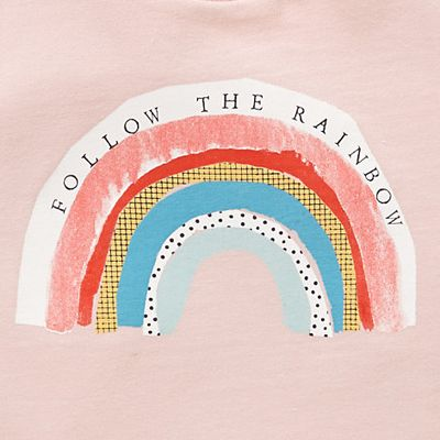 print & pattern, follow the rainbow, stamp letters, lettering, type, design, weather, collage, print, illustration, drawing, spring, summer