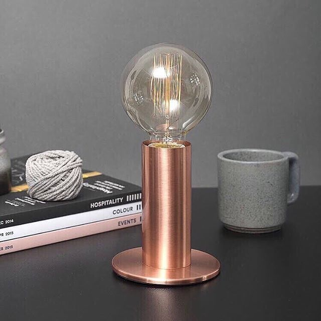 Touch Dimmable Table Lamps Available In Rose Gold Brass And Black Perfect In The Living Room As A Desk Lamp Or Even As A Dimmable Table Lamp Lamp Touch Lamp