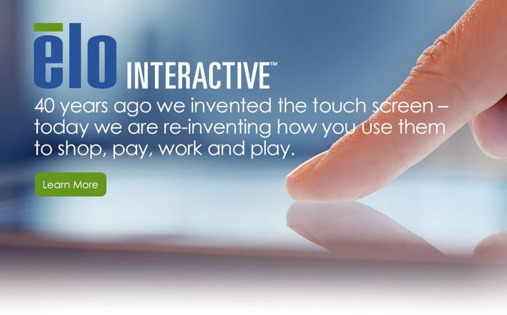 Elo Touch Solutions — Touch Solutions for Retail, Hospitality, Interactive Digital Signage (IDS), Industrial, Medical, Gaming, Transportation, Handheld and Mobile
