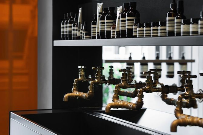 Torafu Architects: Aesop Shibuya - Thisispaper Magazine faucets!