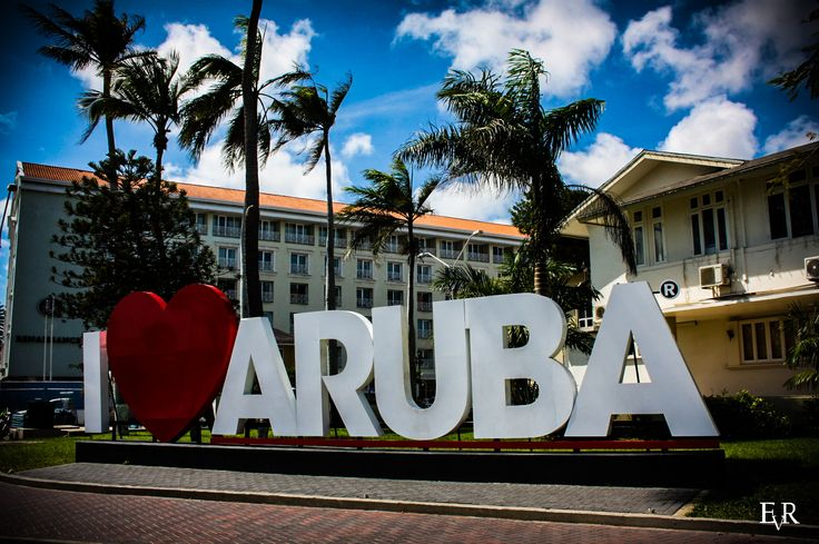 EVR Photography - I Love Aruba Sign, Oranjestad, Aruba