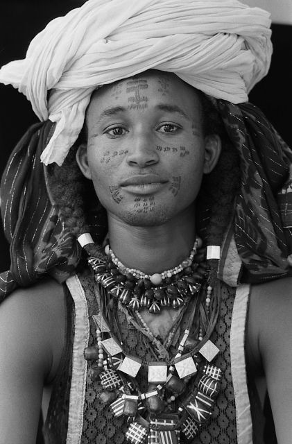 Africa | Woodabe from southern Chad | © Marie-Laure de Decker.