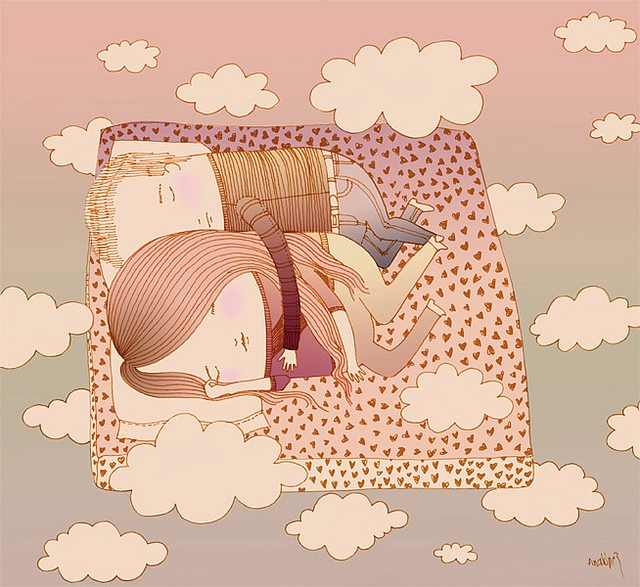Are they dreaming or am I dreaming by Cabizbaja