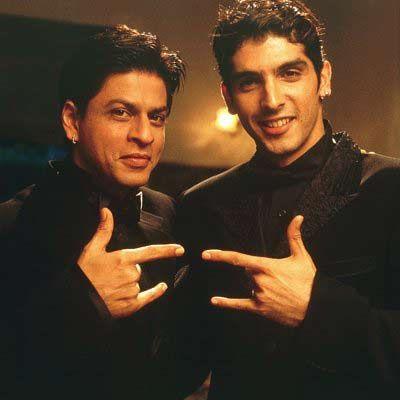 Shahrukh Khan and Zayed Khan play reunited brothers in Main Hoon Na (2004)