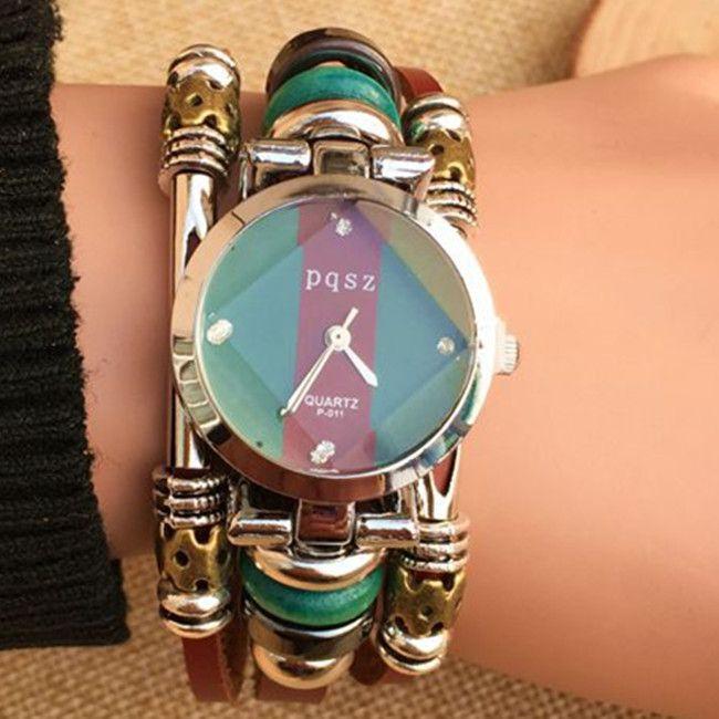 $8.45 (Buy here: https://alitems.com/g/1e8d114494ebda23ff8b16525dc3e8/?i=5&ulp=https%3A%2F%2Fwww.aliexpress.com%2Fitem%2FNEW-Genuine-Leather-Watch-Women-Triple-Bracelet-Wristwatch-Italian-Style-Green-Coffe-Stripes-Fashion-Reloj-Para%2F32408520781.html ) NEW Genuine Leather Watch Women Triple Bracelet Wristwatch Italian Style Green Coffe Stripes Fashion Reloj Para Dama Watch for just $8.45