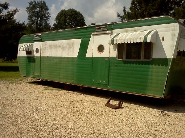 1951 Liberty Coach Trailer Vintage Campers Trailers