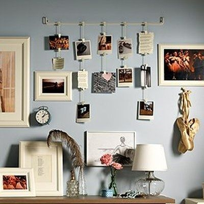 17 best ideas about hanging pictures without nails on pinterest dorm photo walls dorm picture collages and dorm room pictures
