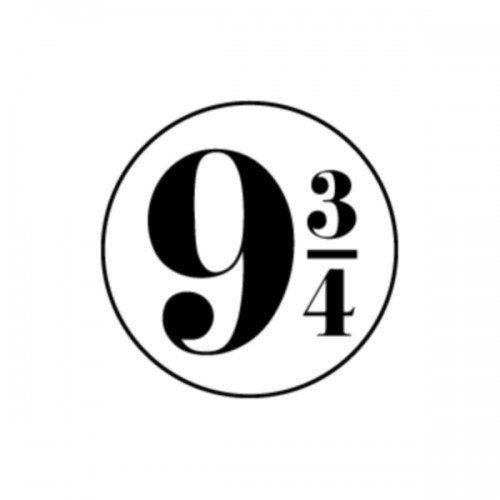 Harry Potter 9 3/4 Symbol Decal Window Sticker | DressXpress - Home & Garden on ArtFire